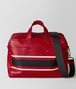 china red/nero struzzo duffel Front Portrait