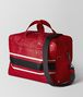 china red/nero struzzo duffel Right Side Portrait