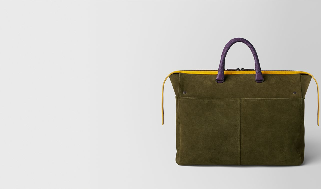 multicolor double suede day tote landing