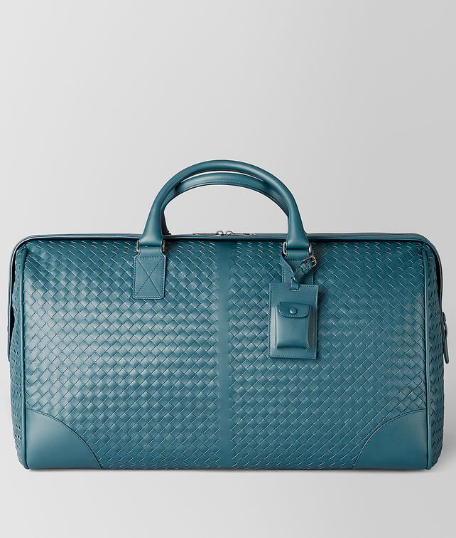 BOTTEGA VENETA BRIGHTON INTRECCIATO NAPPA MEDIUM HOLD-ALL Luggage Man fp