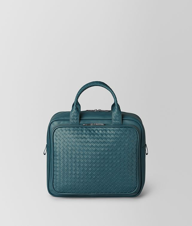 BOTTEGA VENETA BRIGHTON INTRECCIATO NAPPA TRAVEL BAG Luggage E fp