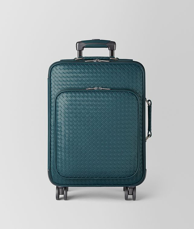 BOTTEGA VENETA TROLLEY IN INTRECCIATO VN  Luggage E fp