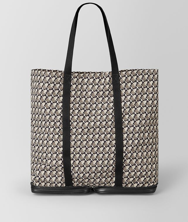 BOTTEGA VENETA FOLDAWAY SHOPPER IN LEGGERO AND NYLON Luggage E fp