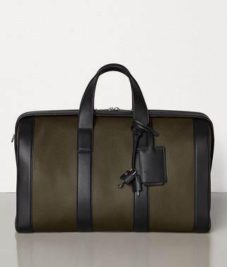 MEDIUM DUFFLE BAG IN MARCOPOLO CALFSKIN