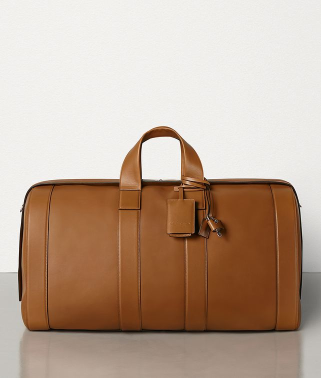 BOTTEGA VENETA LARGE DUFFLE IN FRENCH CALF Travel Bag [*** pickupInStoreShippingNotGuaranteed_info ***] fp