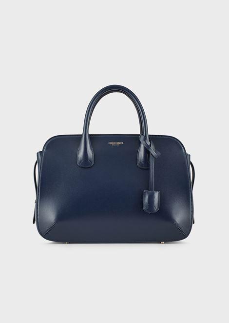 Large la Prima bag in palmellato leather