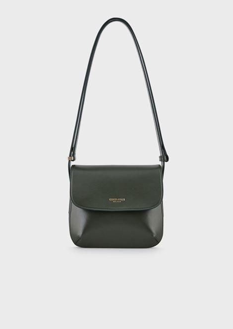Small la Prima bag in palmellato leather
