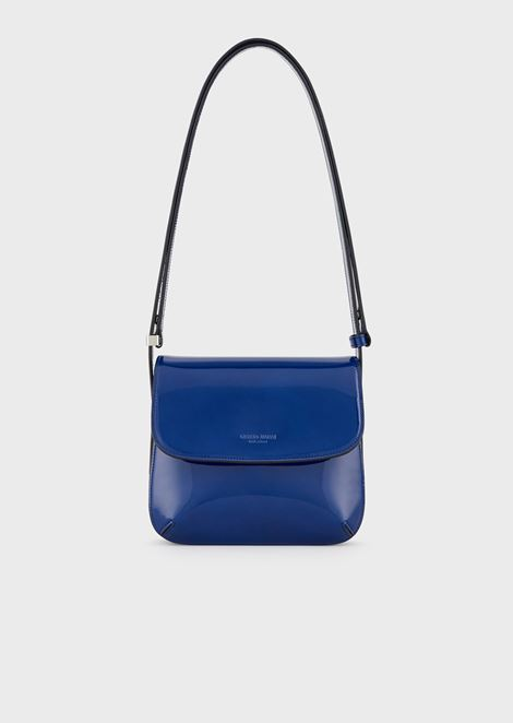 Small la Prima bag in patent leather