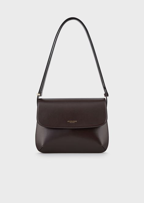Large la Prima bag in palmellato leather
