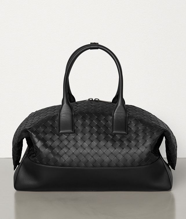 BOTTEGA VENETA MEDIUM DUFFLE IN INTRECCIATO VN Travel Bag Man fp