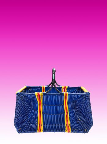 Marni Blue picnic basket Man