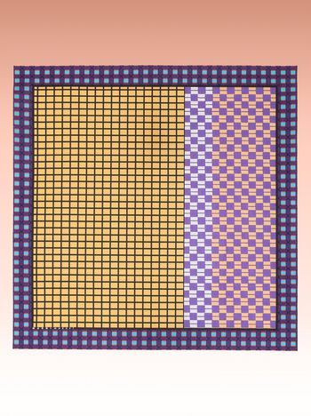 Marni Picnic blanket with Sequence Grid print Man