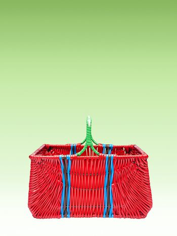 Marni Red picnic basket Man