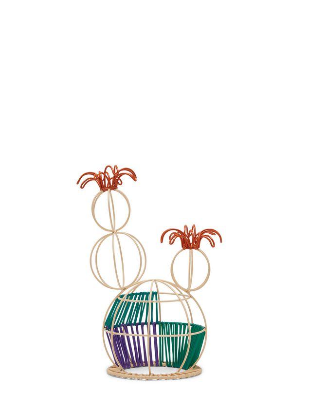 Marni MARNI MARKET cactus sculpture with 2 flowers & multicolored base Man - 3