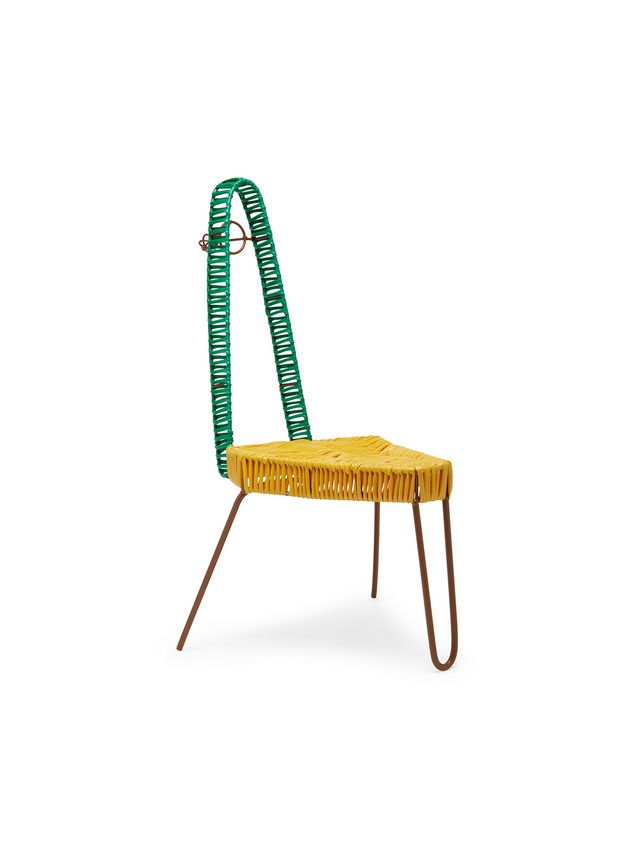 Marni MARNI MARKET triangular chair in PVC Man - 2
