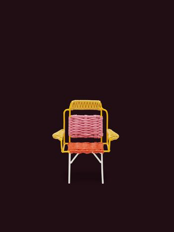 Marni MARNI MARKET circular chair in PVC Man