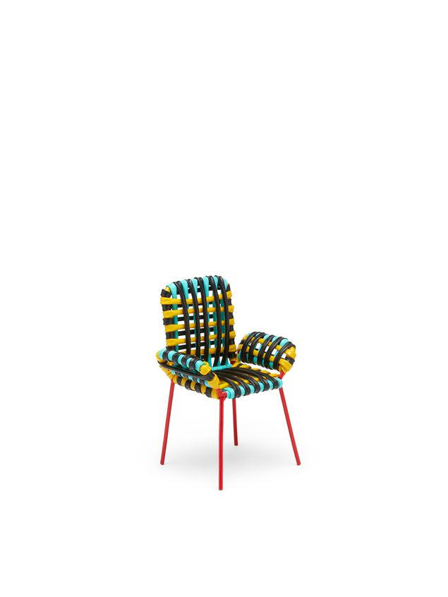 Marni MARNI MARKET sculpture chair with arms in PVC Man - 2