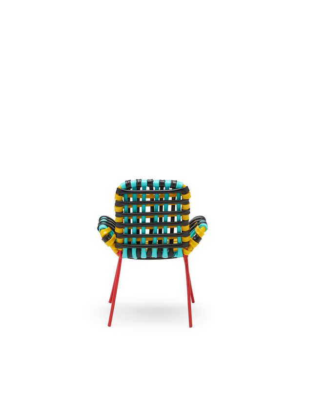 Marni MARNI MARKET sculpture chair with arms in PVC Man - 3
