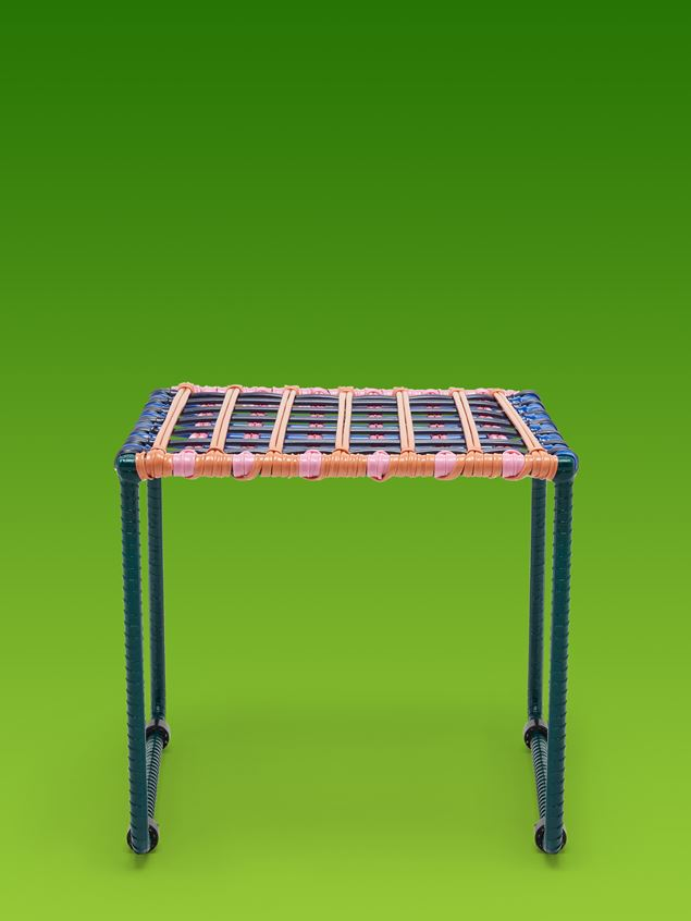 Marni MARNI MARKET black, blue, orange, green and pink table in metal  Man - 1