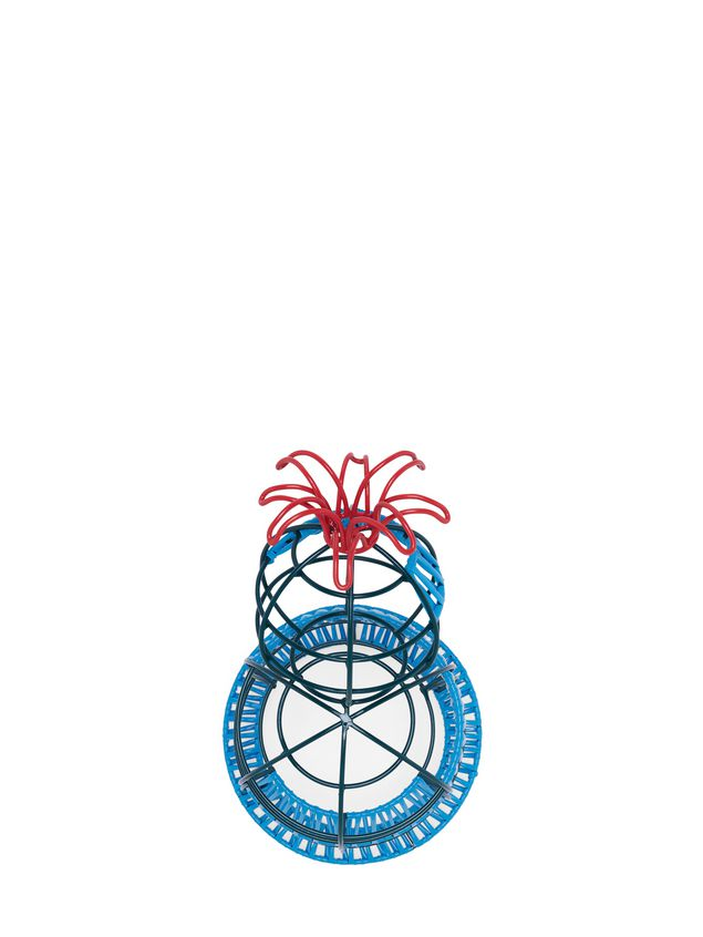 Marni MARNI MARKET cactus sculpture with 1 flower, 3 levels & blue and green base Man - 4