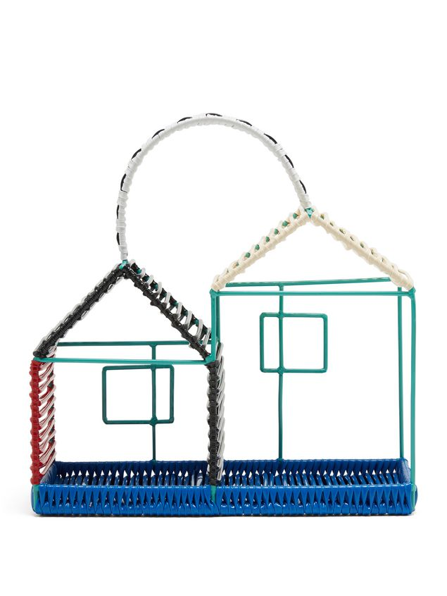 Marni MARNI MARKET double house sculpture in metal with black bottom Man - 3