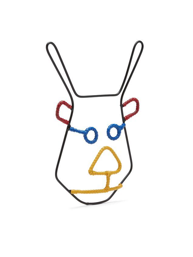 Marni MARNI MARKET deer head mask in metal Man - 2