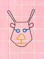 Marni MARNI MARKET deer head mask in metal Man - 1