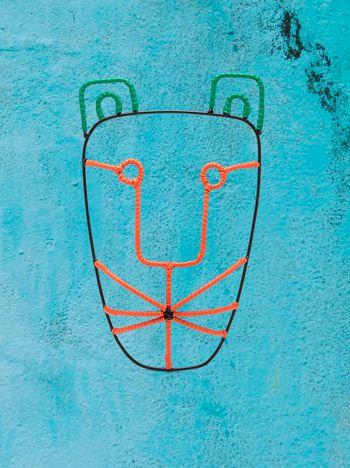 Marni MARNI MARKET メタル製タイガーヘッドマスク メンズ