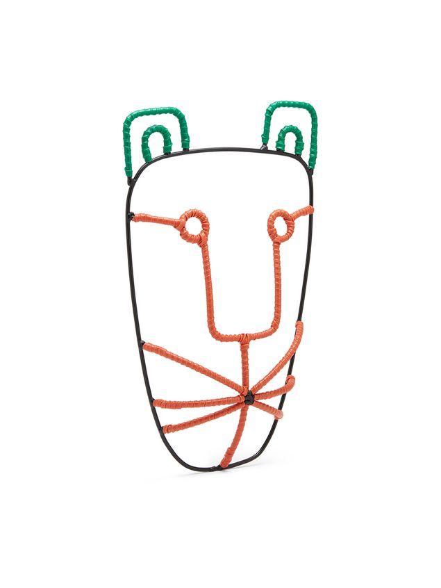 Marni MARNI MARKET tiger-head mask in metal Man - 2