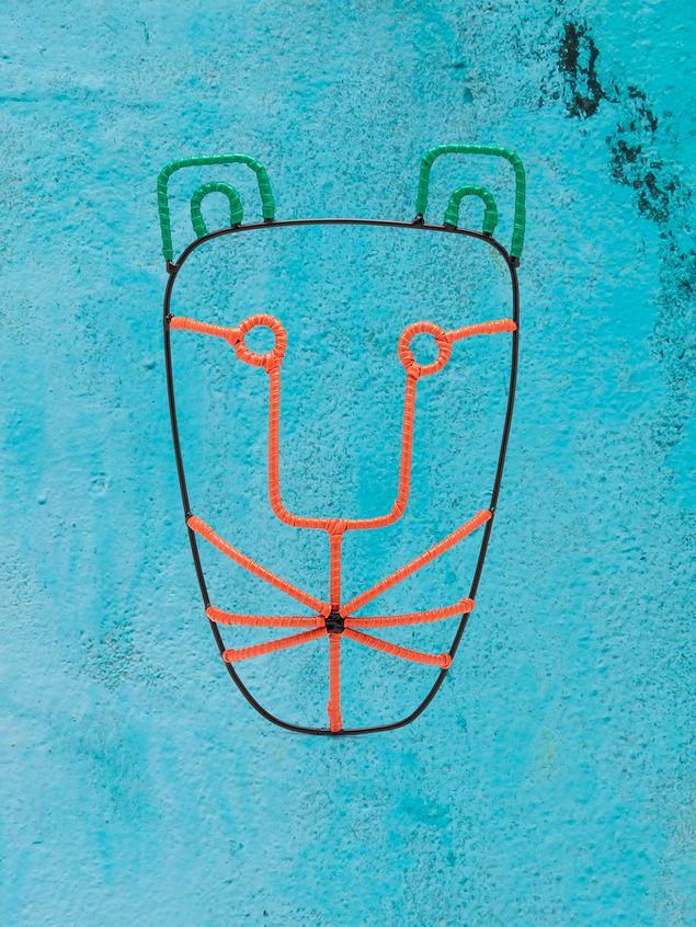 Marni MARNI MARKET tiger-head mask in metal Man - 1