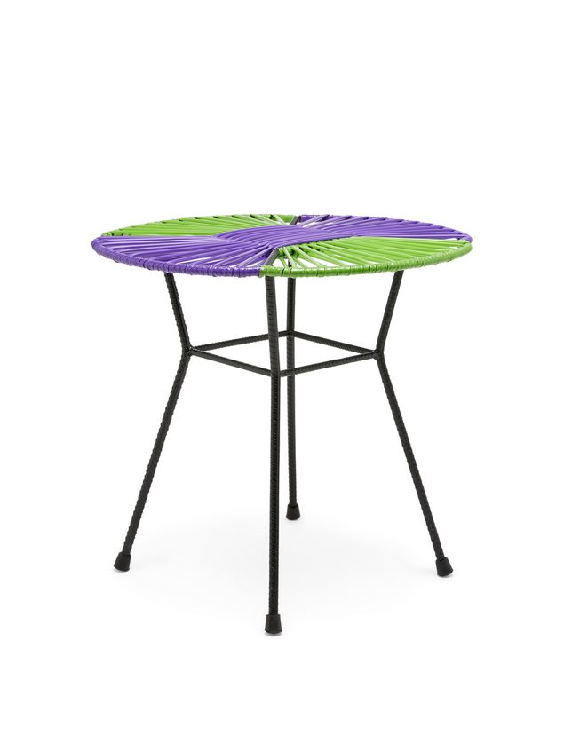 Marni MARNI MARKET purple, green and black table in iron  Man - 2