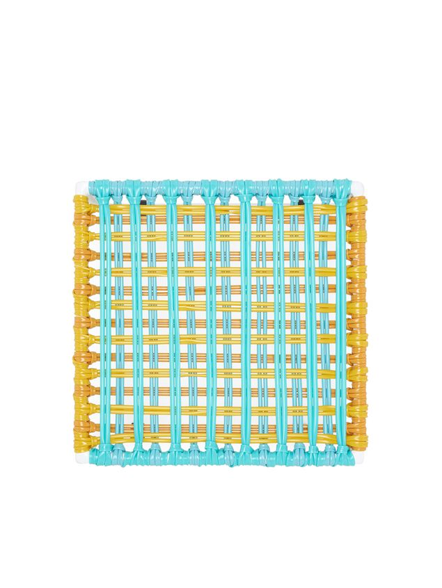 Marni MARNI MARKET pale blue, yellow and white table in metal  Man