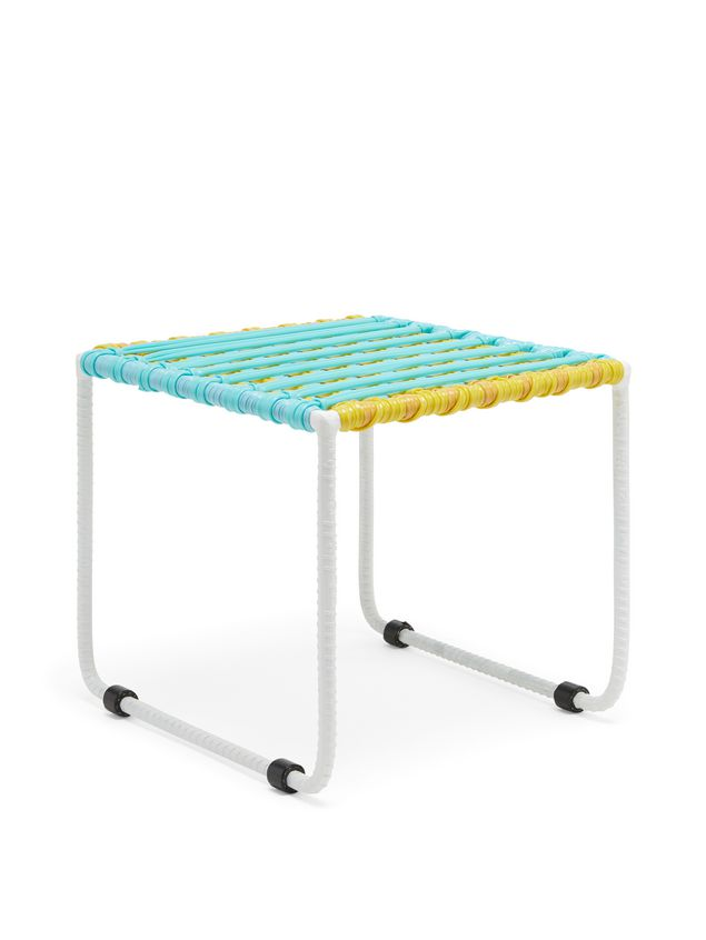 Marni MARNI MARKET pale blue, yellow and white table in metal  Man - 2