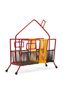 Marni MARNI MARKET red, orange and brown house sculpture in iron  Man - 2