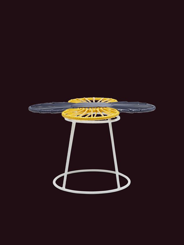Marni MARNI MARKET yellow, white and black table in metal  Man - 1