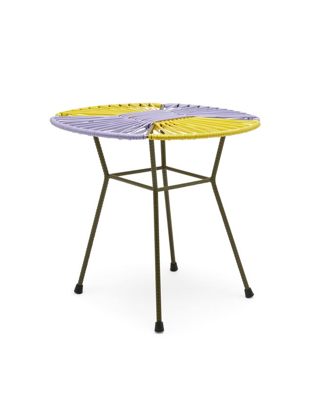 Marni MARNI MARKET yellow, lilac and green table in iron  Man - 2