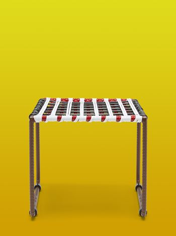 Marni MARNI MARKET white, brown, black and red table in metal  Man