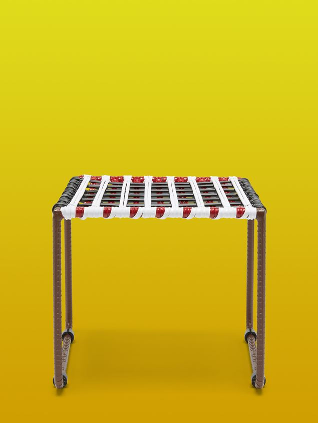 Marni MARNI MARKET white, brown, black and red table in metal  Man - 1