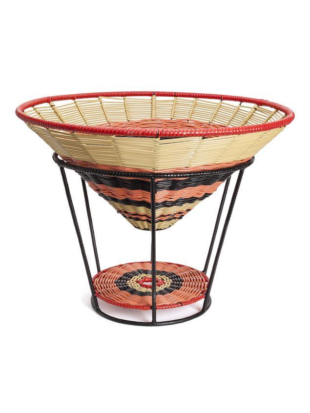 Marni MARNI MARKET basket/seat in metal Man - 2