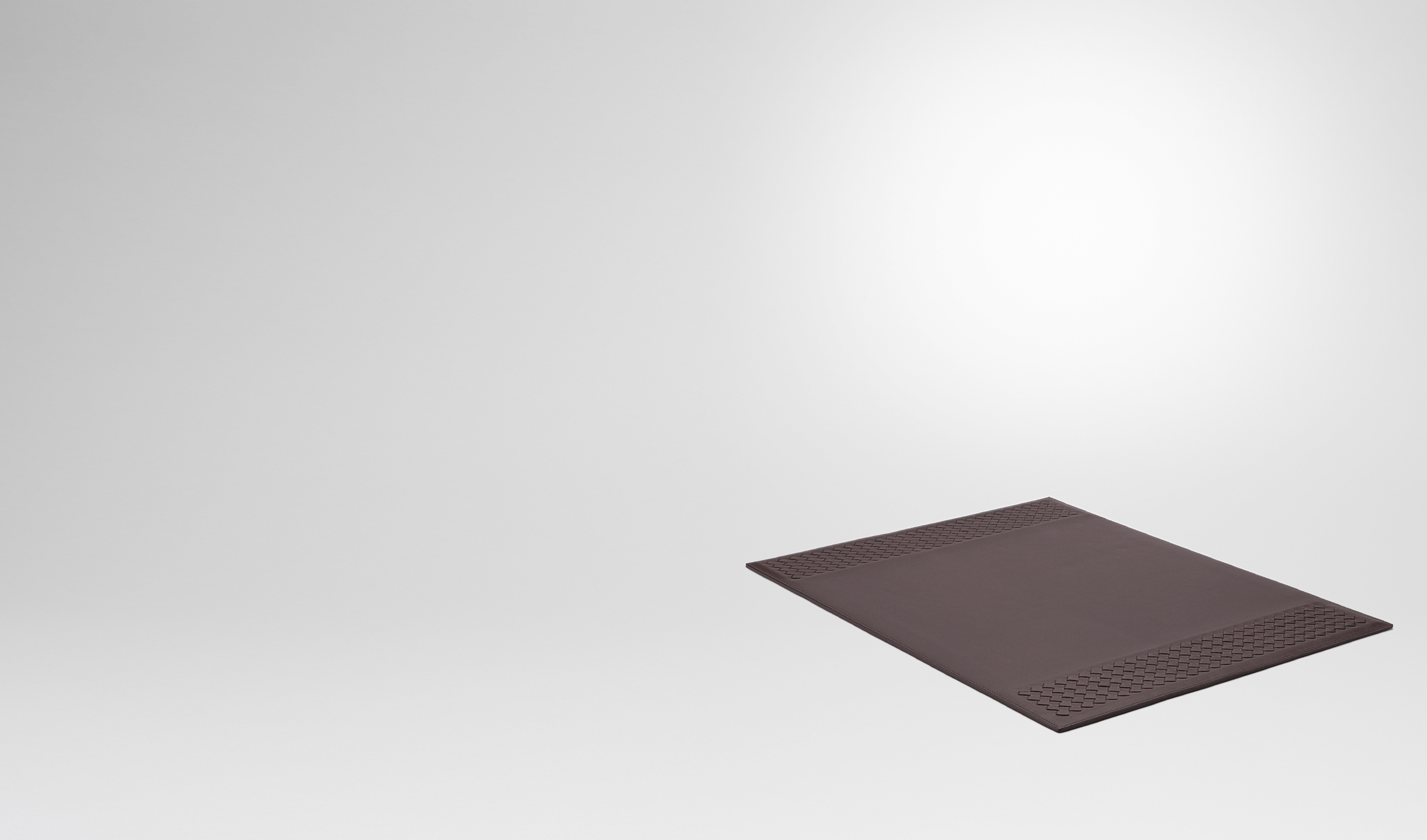 BOTTEGA VENETA Desk accessory E Ebano Intrecciato Vn Desk Blotter pl