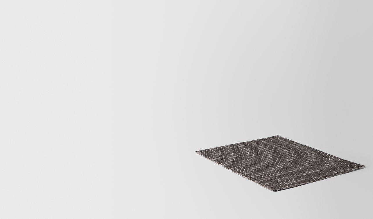 carbone intrecciato linen place mat landing