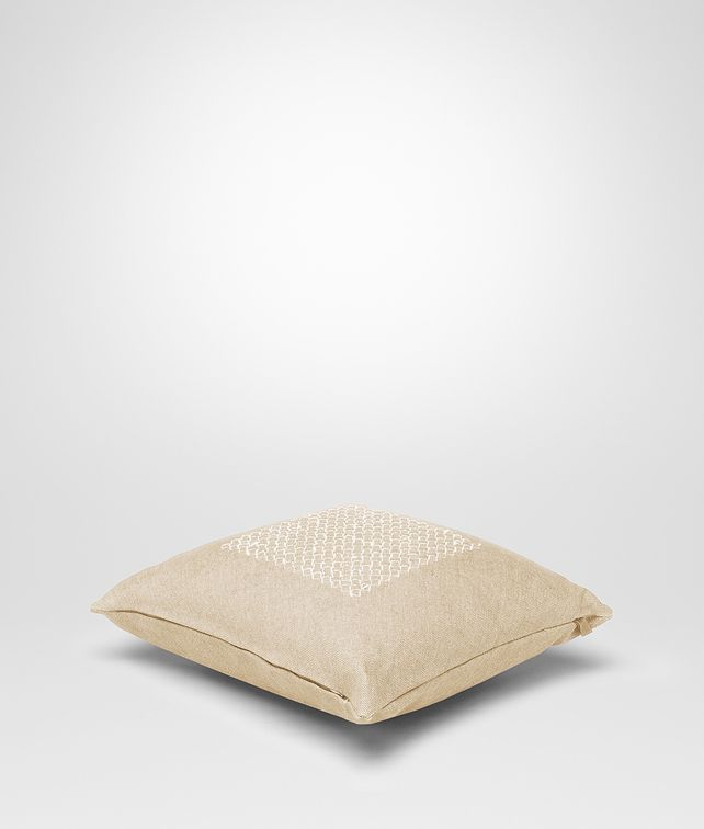 BOTTEGA VENETA Palladio Linen Pillow Pillow and blanket E fp