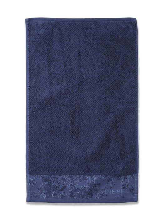 LIVING DENIM FLORA SOLID TOWEL 30X50 Bath U f