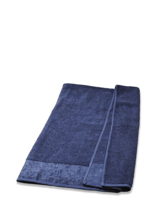 LIVING DENIM FLORA SOLID TOWEL 50X100 Bath U f