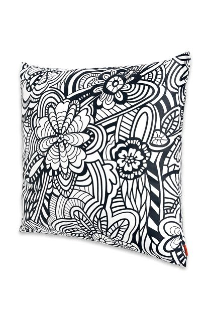 MISSONI HOME OZZY CUSHION Black E - Back