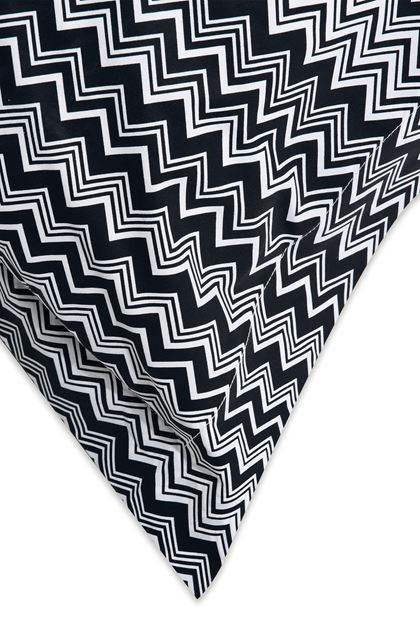 MISSONI HOME OZ PILLOWCASES 2-PIECE SET Black E - Front