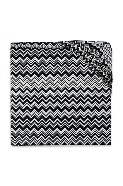 MISSONI HOME OZ FITTED SHEET Black E - Front