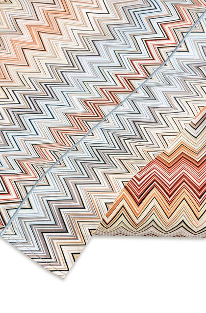 MISSONI HOME JOHN SHEET SET  Brown E - Front