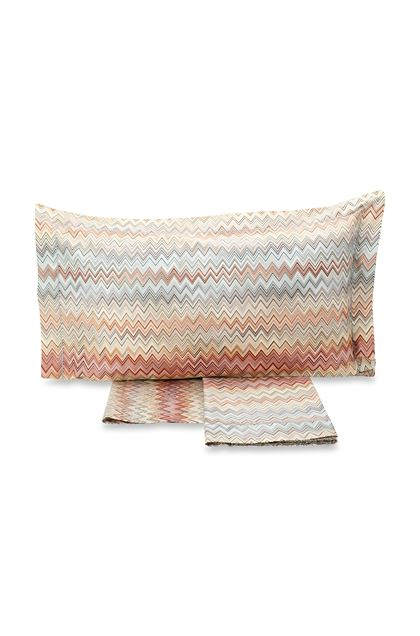 MISSONI HOME JOHN SHEET SET  Brown E - Back