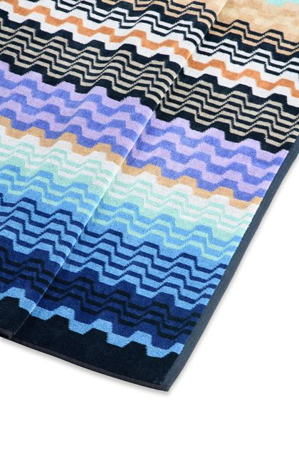 MISSONI HOME LARA TOWEL  Blue E - Front